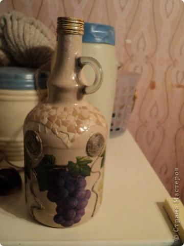 Встречала такую бутылочку в стране мастеров, очень понравилась, решила повторить. фото 2