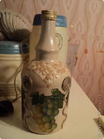 Встречала такую бутылочку в стране мастеров, очень понравилась, решила повторить. фото 1