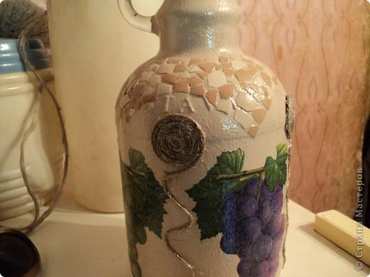Встречала такую бутылочку в стране мастеров, очень понравилась, решила повторить. фото 3