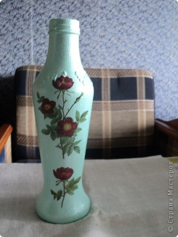 Встречала такую бутылочку в стране мастеров, очень понравилась, решила повторить. фото 4