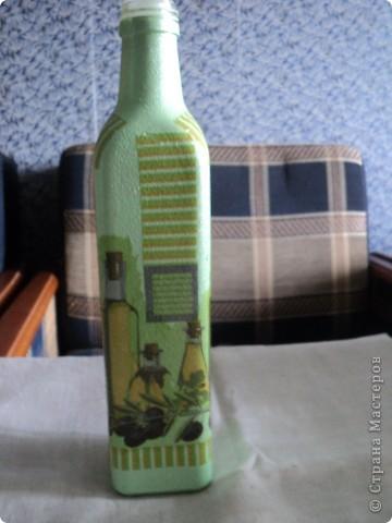 Встречала такую бутылочку в стране мастеров, очень понравилась, решила повторить. фото 5