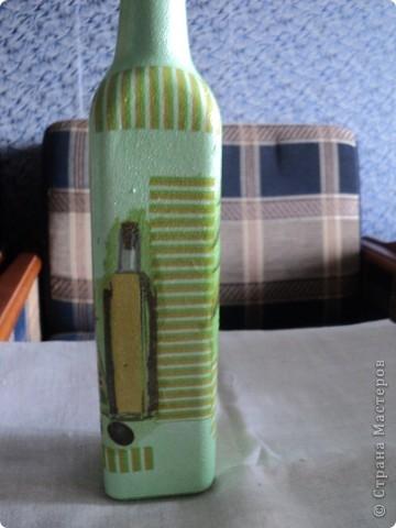 Встречала такую бутылочку в стране мастеров, очень понравилась, решила повторить. фото 6