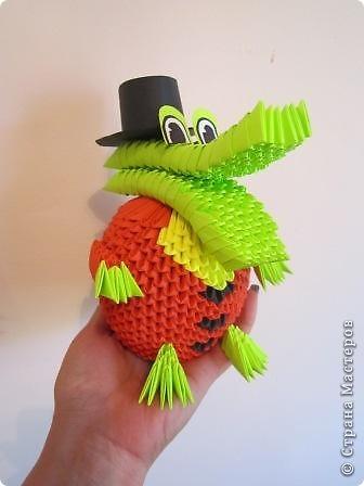 мои работы из модульного оригами фото 4