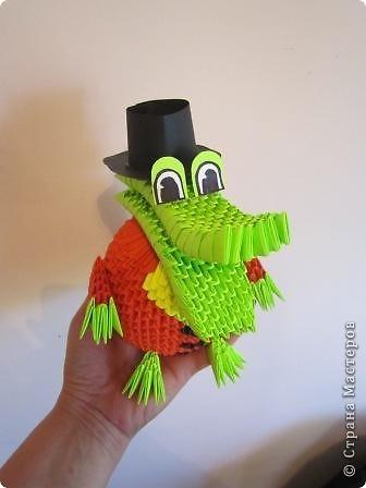 мои работы из модульного оригами фото 5