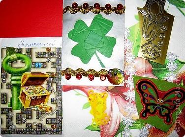 Хочу показать открыточку (правда, она что-то не хочет фотографироваться!) с благодарностью девочкам за полученные письма с карточками. фото 4