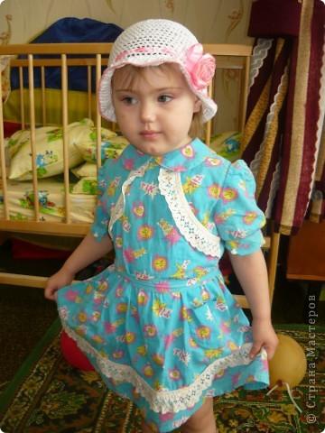 шапочка для дочки фото 1