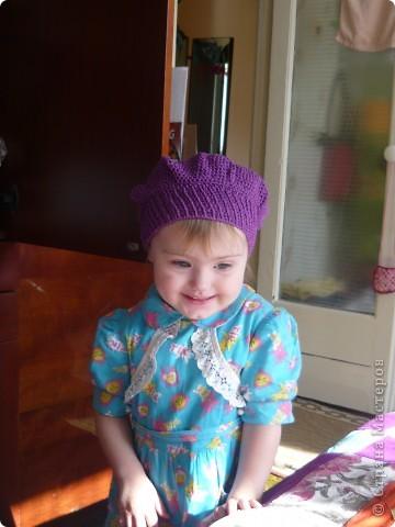 шапочка для дочки фото 4