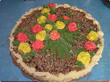 Такой  тортик  на скорую  руку приготовила  на   день рождения  своей  дочурки. 30  сентября  ей  исполнилось  11 лет! фото 1