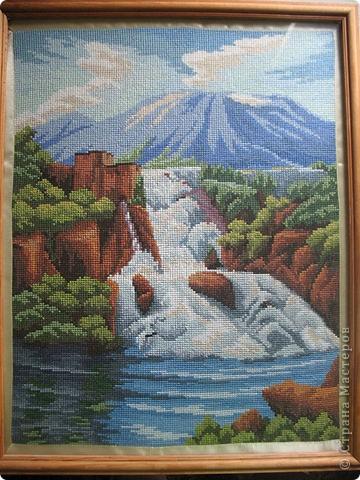 Водопад для мамы на Юбилей фото 1