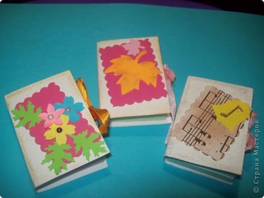Завтра День Учителя!!!! И для своих любимых учителей я сделала вот такие блокнотики из блоков для записи, пастельной бумаги,дырокольностей. Идея взята на страницах СМ. Спасибо всем за прекрасные идеи!!!!!! фото 2