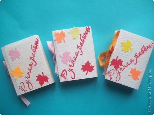 Завтра День Учителя!!!! И для своих любимых учителей я сделала вот такие блокнотики из блоков для записи, пастельной бумаги,дырокольностей. Идея взята на страницах СМ. Спасибо всем за прекрасные идеи!!!!!! фото 3