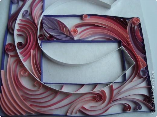Решила сделать ещё одну работу -- монограмму Б и С: Белова Светлана. Очень понравилось работать в этой технике -- так увлекательно...!!!  фото 3