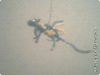 Дракоша из бисера фото 3