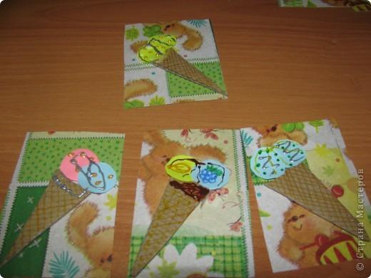 Вот Моя новая серия Атс: Мороженки от Зайки. Идею создания я взяла, когда делала открытку маме на день учителя! фото 4