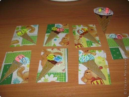 Вот Моя новая серия Атс: Мороженки от Зайки. Идею создания я взяла, когда делала открытку маме на день учителя! фото 1