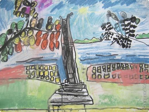 Света Денисова. Монумент Дружбы народов. фото 3
