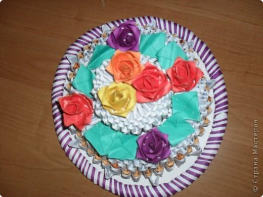 Торт из модулей фото 2