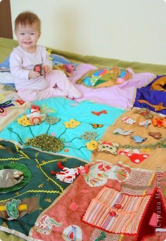 Детский развивающий коврик фото 2