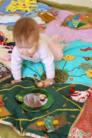 Детский развивающий коврик фото 11