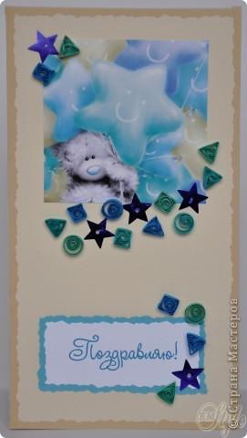 Всем доброго времени суток! Я опять с открытками) Нашёлся у меня завалявшийся настольный календарь на текущий год с мишками Тедди и, поскольку скоро он станет не актуален, я его изрезала и наделала открыток) - нельзя же выбросить таких симпатяг! Ну а что получилось - смотрите сами) фото 5
