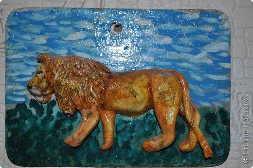 Лёва - царь зверей