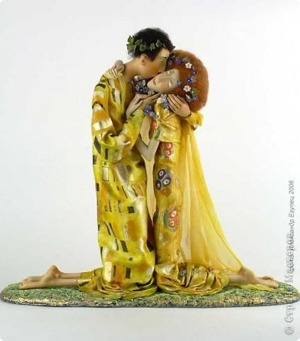 Поцелуй (по куклам Ольги Егупец) фото 5