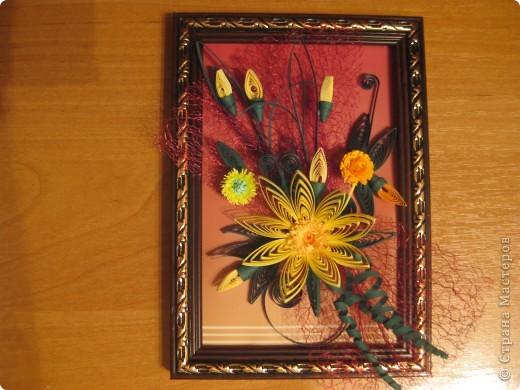 Картина- мини цветок. фото 3