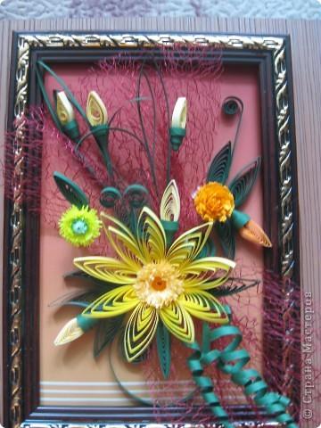 Картина- мини цветок. фото 1