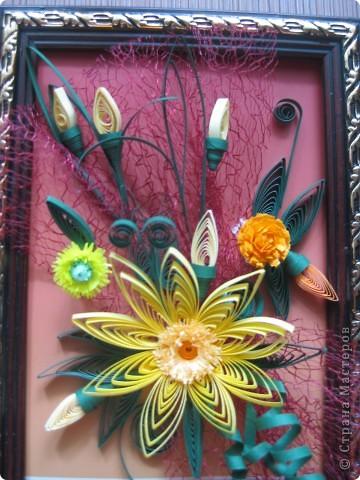 Картина- мини цветок. фото 2