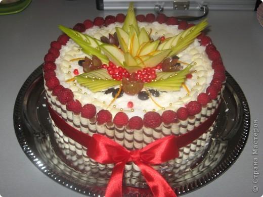 торт с элементами карвинга