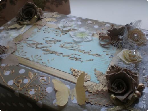 Вот такой свадебный набор получился. Он состоит из подарочного пакета, коробочки и самих бокалов. мастер-класс находится http://www.udivimka.ru/svadebnye-podarki-1905  фото 4