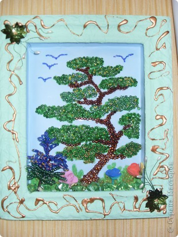 Картина панно рисунок Картинка из бисера Бисер фото 1.