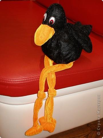 ворона Каркуша (игрушка-узелок) фото 1