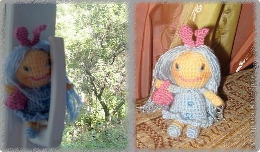 Малышка-Зайка с лукошечком:) фото 1