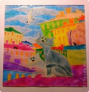 """Картинка """"коты на крыше"""" фото 3"""