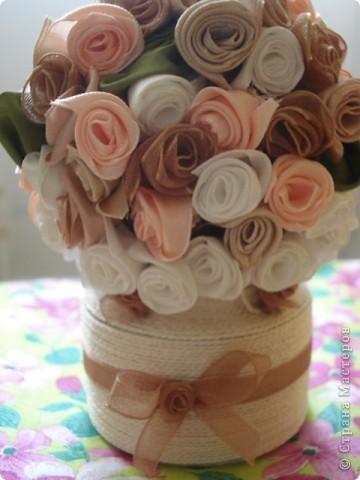 Розовые букетики в подарок фото 4