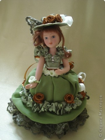 Вот и моя кукла-шкатулка, сделанная в подарок. Спасибо Ксения2010 за идею и МК. фото 1