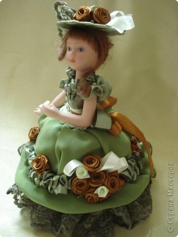 Вот и моя кукла-шкатулка, сделанная в подарок. Спасибо Ксения2010 за идею и МК. фото 2