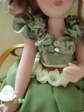 Вот и моя кукла-шкатулка, сделанная в подарок. Спасибо Ксения2010 за идею и МК. фото 4