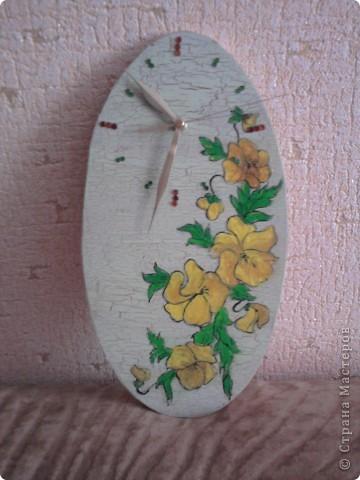 небольшой презентик для любимой свекровушки)) цветочки расписаны маслом фото 1
