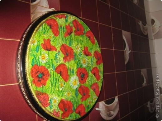 Очень интересный вид декорирования.Материал:Основа под мозаику,яичная скорлупа,клей ПВА,кисточки,зубочистка,лак. фото 4