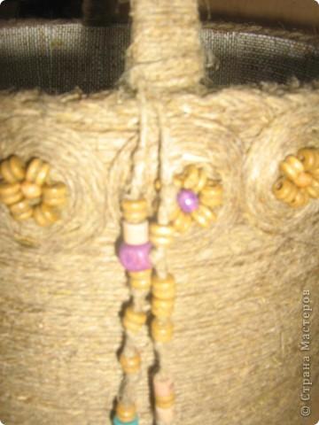 Плетение - Корзинка-кашпо для цветов.