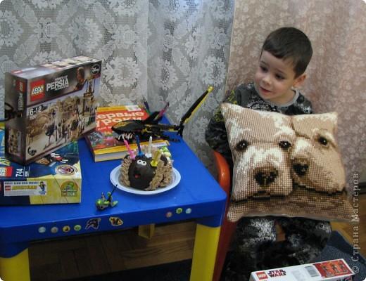 подарок ко дню рождения сына (подушка фирмы Vervaco)