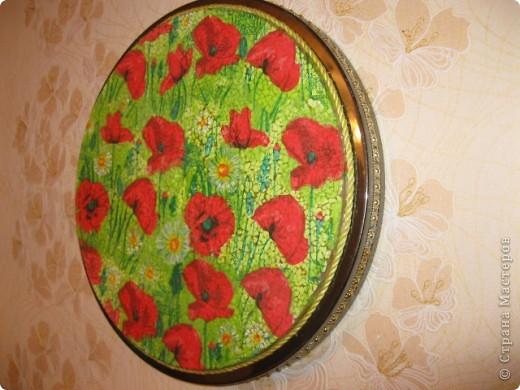 Очень интересный вид декорирования.Материал:Основа под мозаику,яичная скорлупа,клей ПВА,кисточки,зубочистка,лак. фото 1