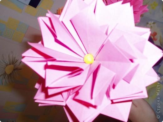 Эти цветы созданы благодаря замечательному МК allasol http://stranamasterov.ru/node/95830 ко дню учителя.  фото 3