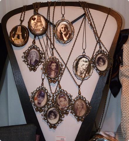 медальоны-декупаж фото 1