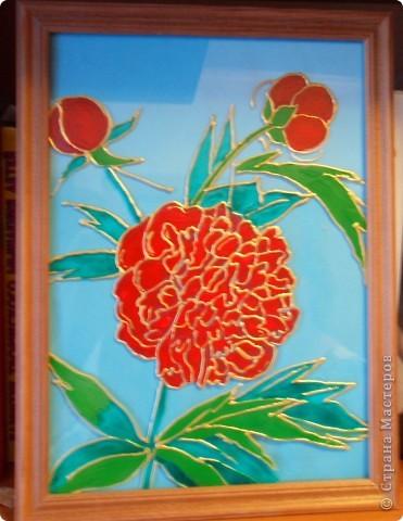 Моя роспись по стеклу фото 2