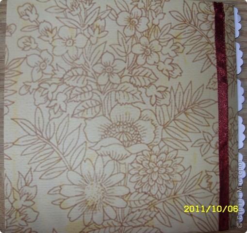 Хотела сделать открытку ко дню учителя, а получилась записная книжка ))) фото 3