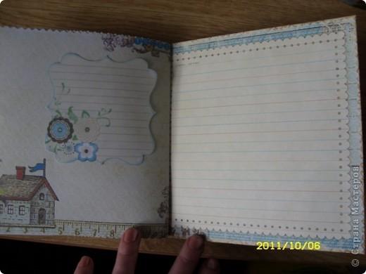 Хотела сделать открытку ко дню учителя, а получилась записная книжка ))) фото 4