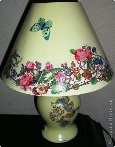 настольная лампа,первая! фото 2